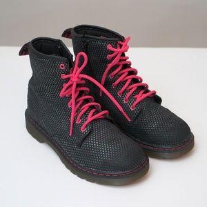 Dr. Martens Pebble Metallic Delaney Ankle Boots